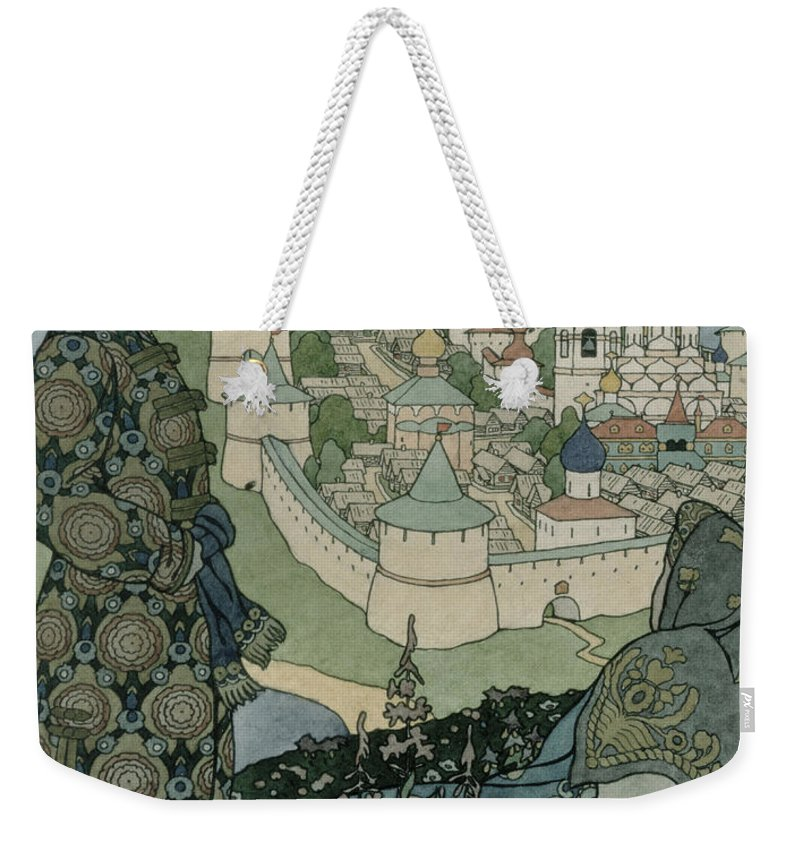 Childrens Illustration Drawings Weekender Tote Bags