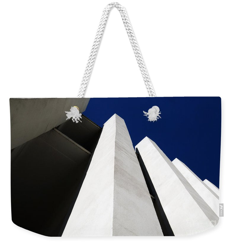 Wilton Weekender Tote Bag featuring the photograph All The Way To The Top by Wendy Wilton