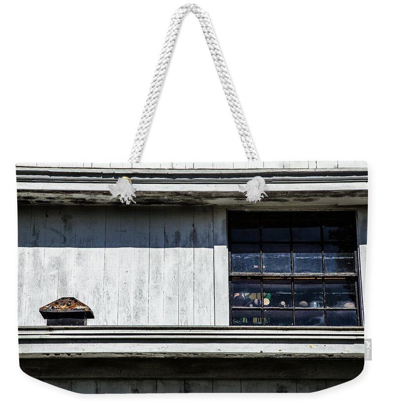 Lines Weekender Tote Bag featuring the photograph All Types Of Lines by Karol Livote