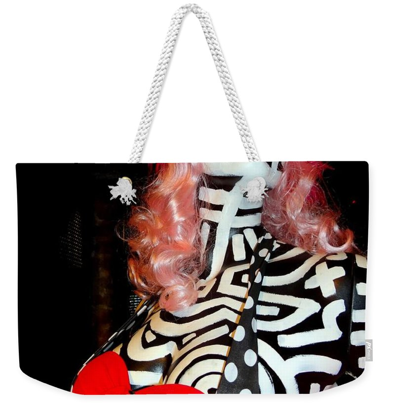 Mannequins Weekender Tote Bag featuring the photograph Alluringly Abstract by Ed Weidman