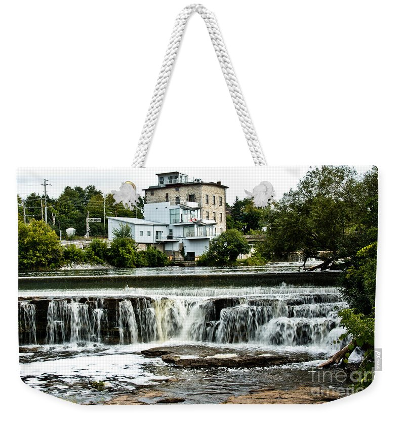 Weekender Tote Bag featuring the photograph Almonte In Late Summer by Cheryl Baxter