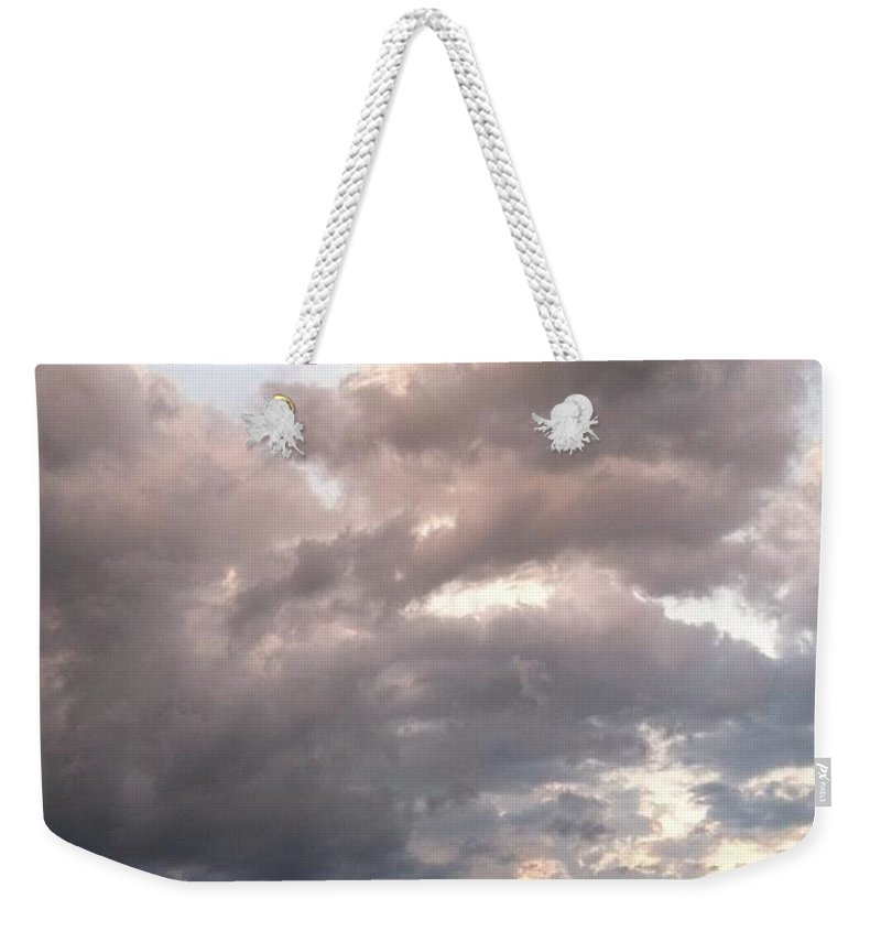 Sand Weekender Tote Bag featuring the photograph Almost Paradise by Melissa Darnell Glowacki