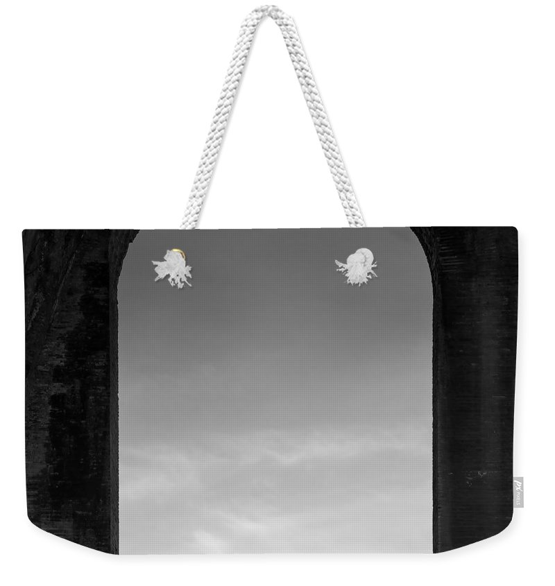 Bird Weekender Tote Bag featuring the photograph Alone by Dave Bowman