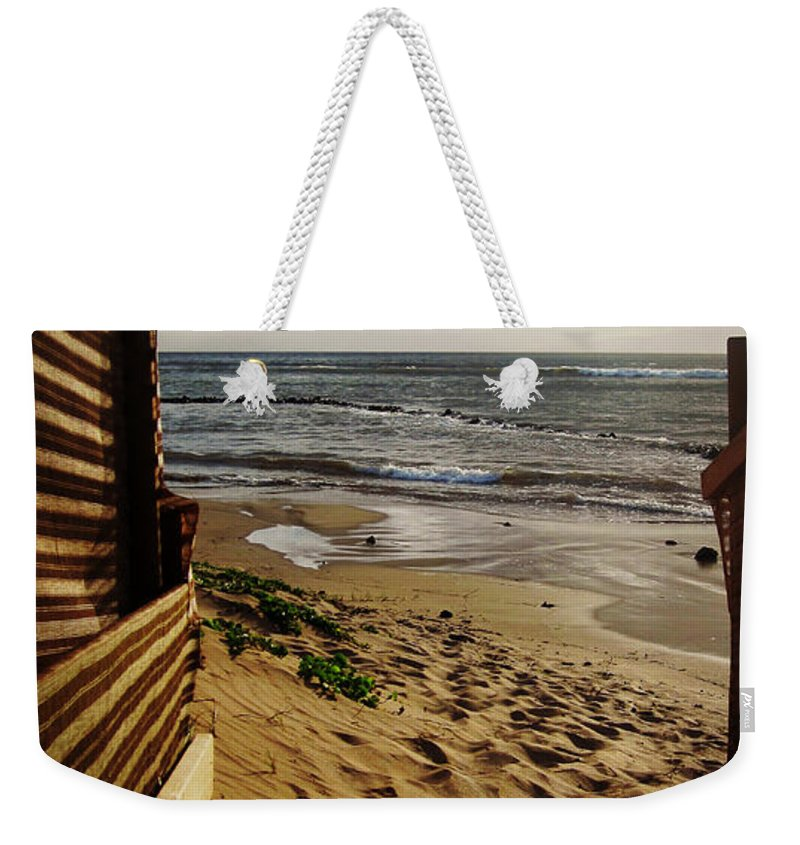 Kihei Weekender Tote Bag featuring the photograph Along The Dunes by Marilyn Wilson