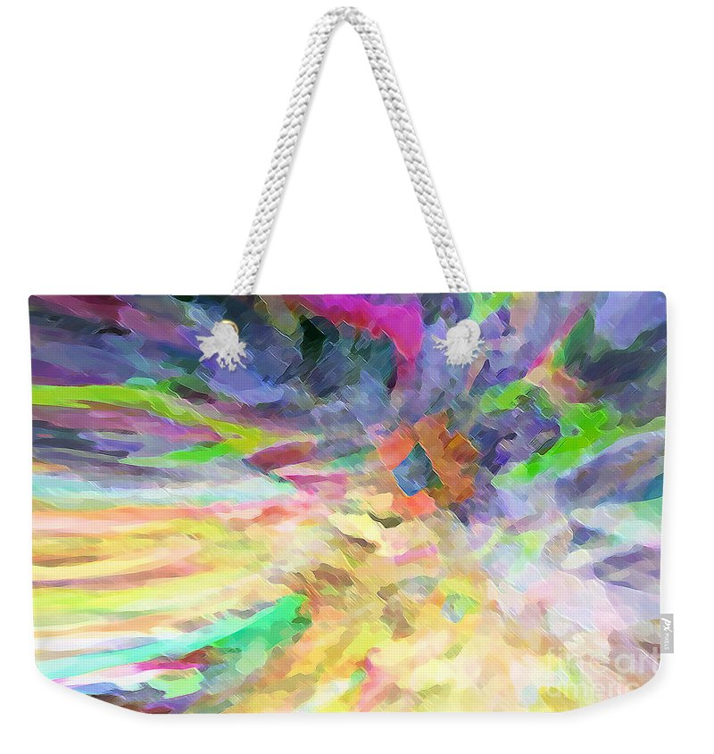 Hotel Art Weekender Tote Bag featuring the digital art Altogether Lovely by Margie Chapman