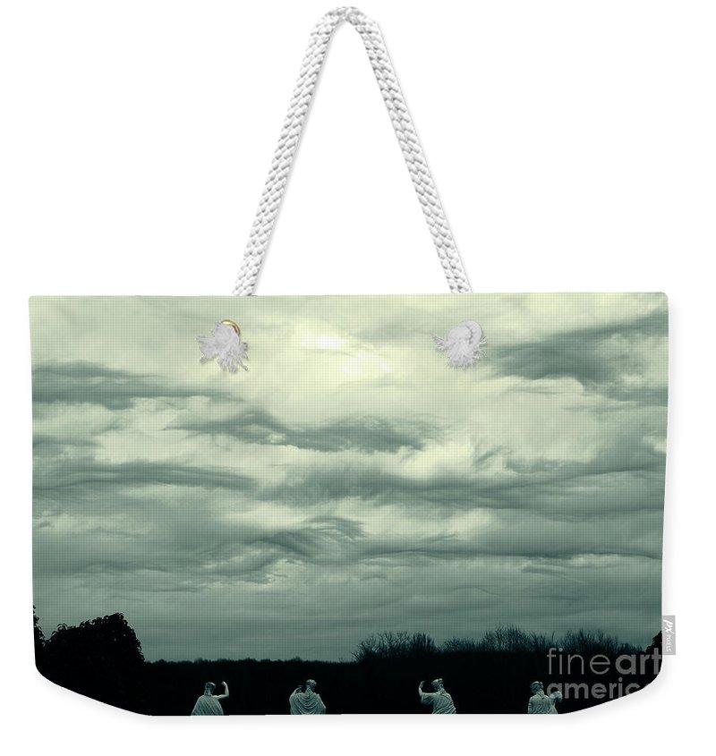 Cloud Weekender Tote Bag featuring the photograph Altostratus Undulatus Asperatus Clouds by Jackie Mestrom