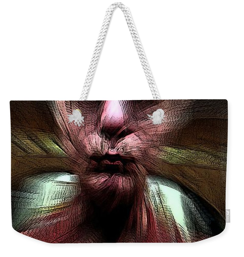 The End Weekender Tote Bag featuring the digital art Always In The End by Ron Bissett