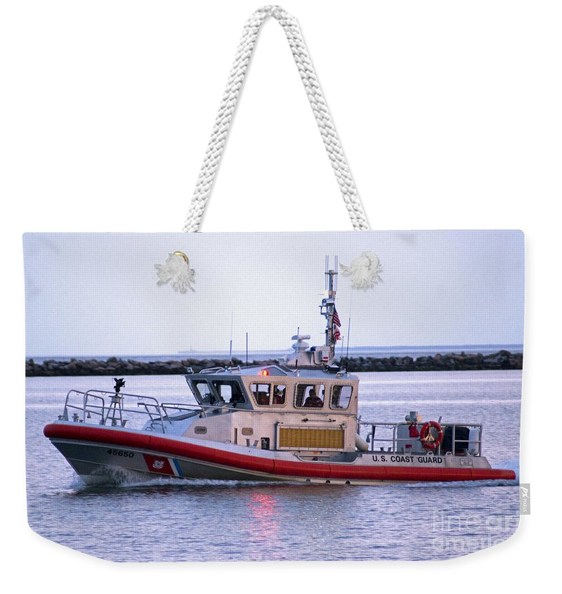 Coast Weekender Tote Bag featuring the photograph Always On by Joe Geraci