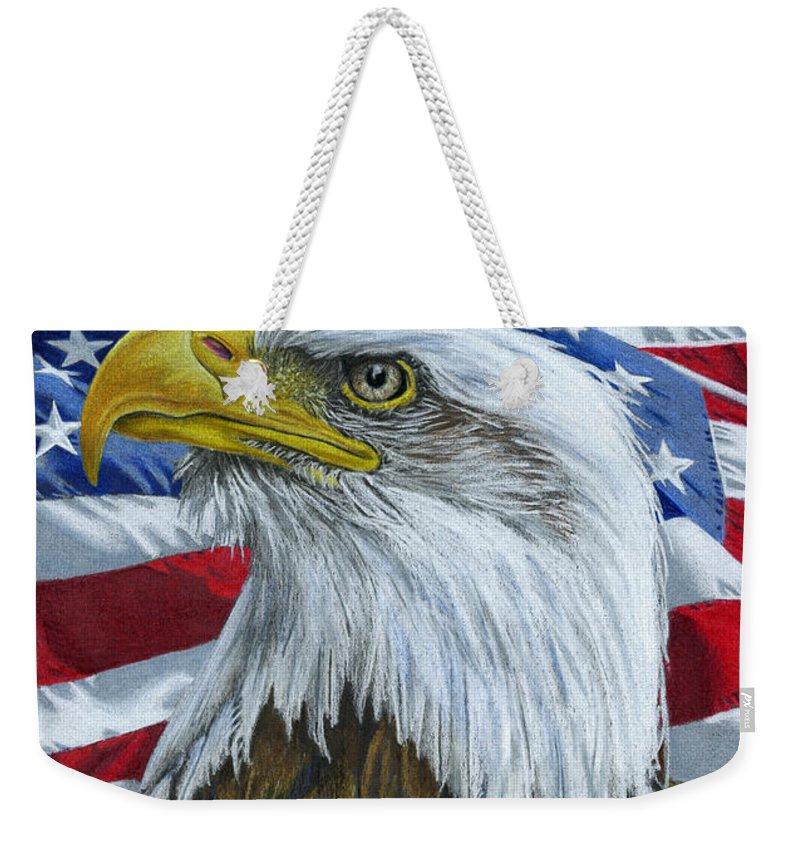 American Eagle Weekender Bag