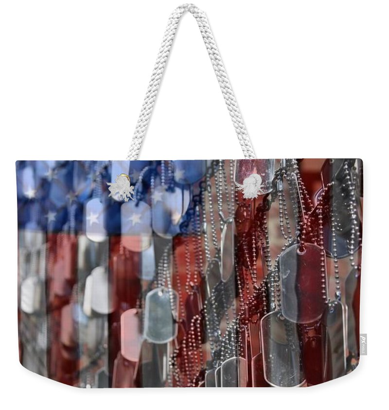 Service Dog Photographs Weekender Tote Bags