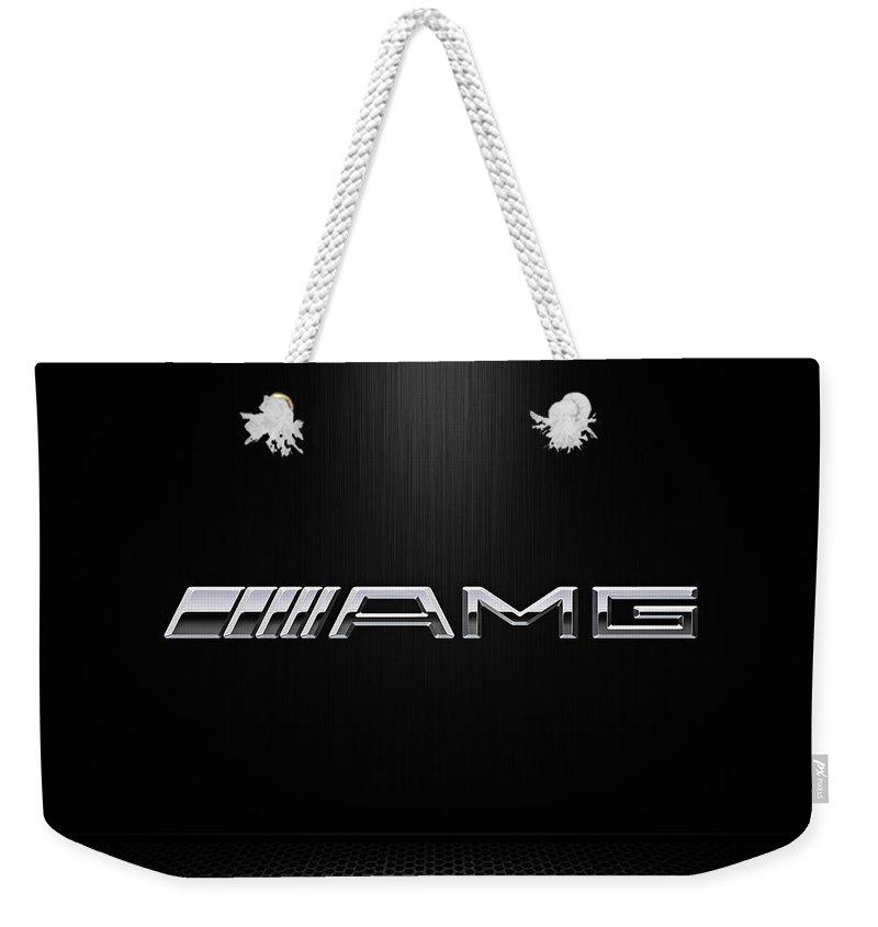 Chrome Digital Art Weekender Tote Bags
