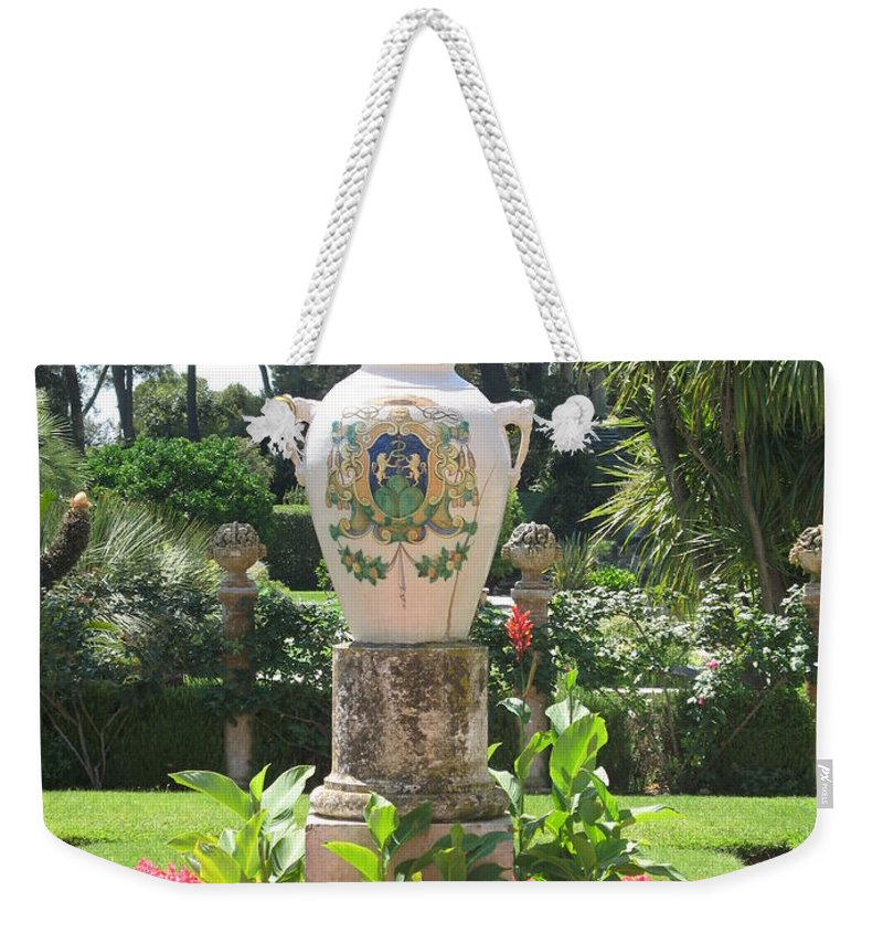 Amphora Weekender Tote Bag featuring the photograph Amphora by Christiane Schulze Art And Photography