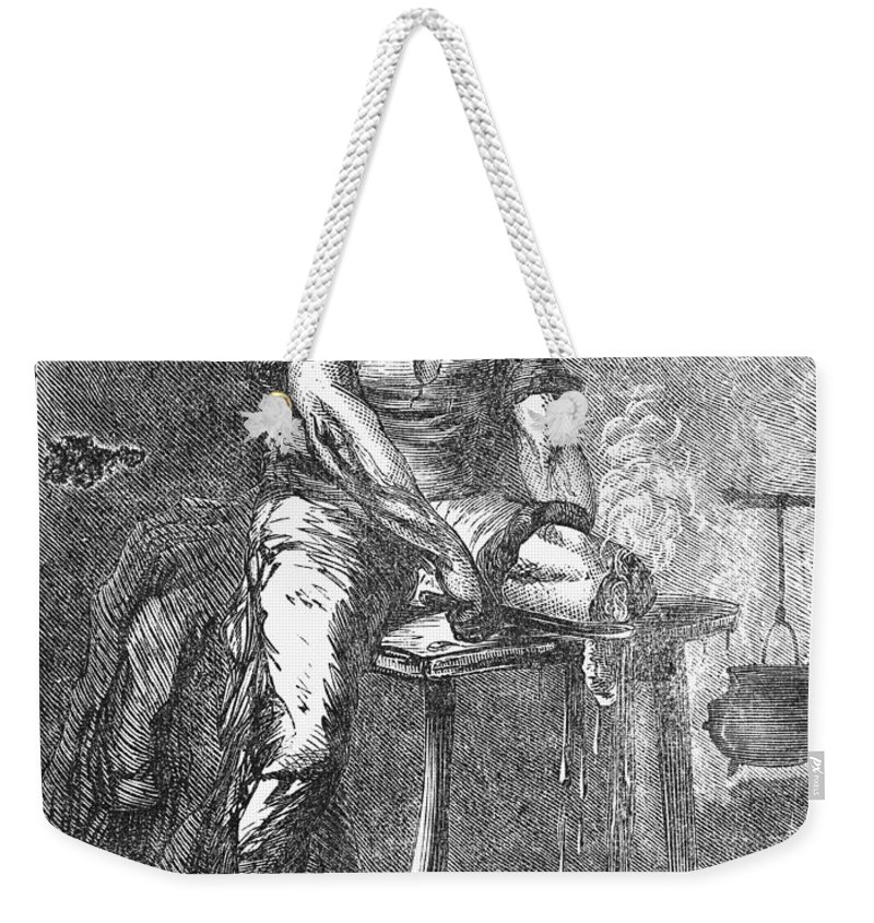1865 Weekender Tote Bag featuring the photograph Amputation, 1865 by Granger
