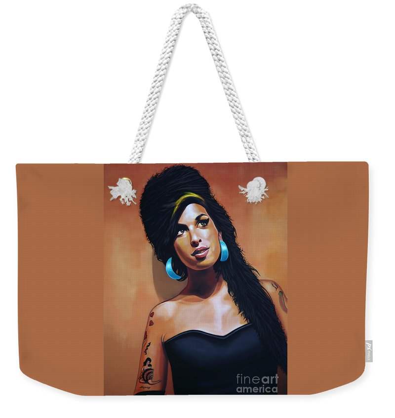Heroin Paintings Weekender Tote Bags