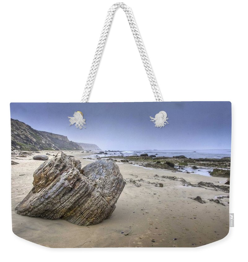 Weekender Tote Bag featuring the photograph Anchor Point by Jon Zich