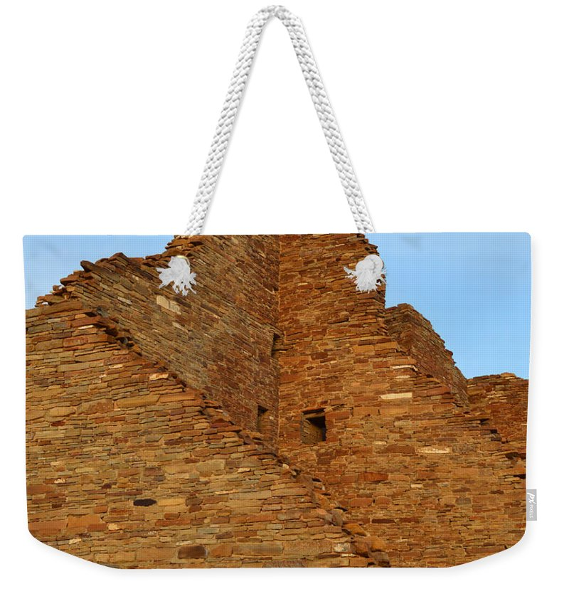 Ruins Weekender Tote Bag featuring the photograph Ancient Corners by Meandering Photography
