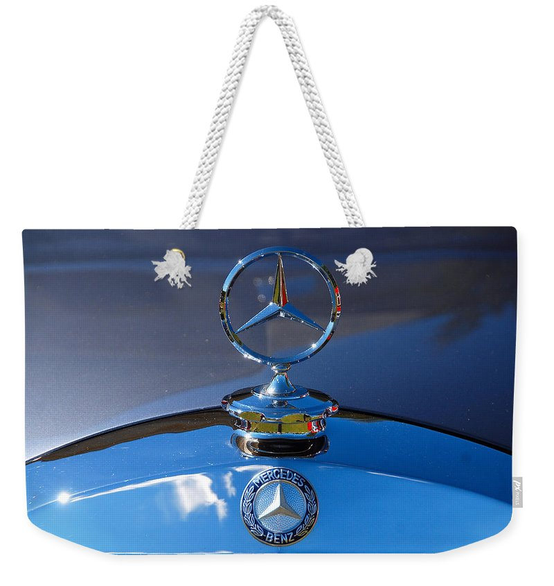 Automobiles Weekender Tote Bag featuring the photograph And In The East They Saw by John Schneider