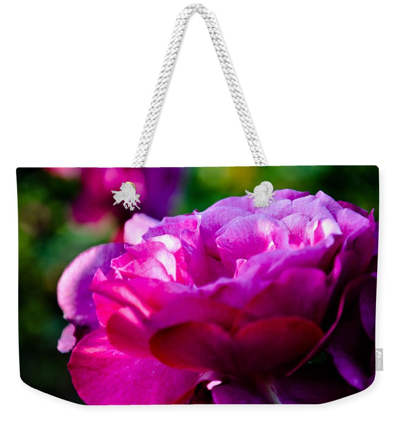 Angel Face Weekender Tote Bag featuring the photograph Angel Face by Keisha Marshall