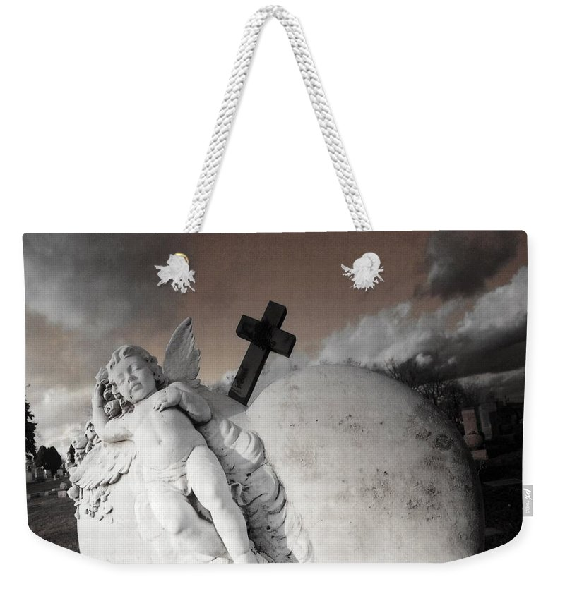 Angel Weekender Tote Bag featuring the photograph Angel Heart by Gothicrow Images