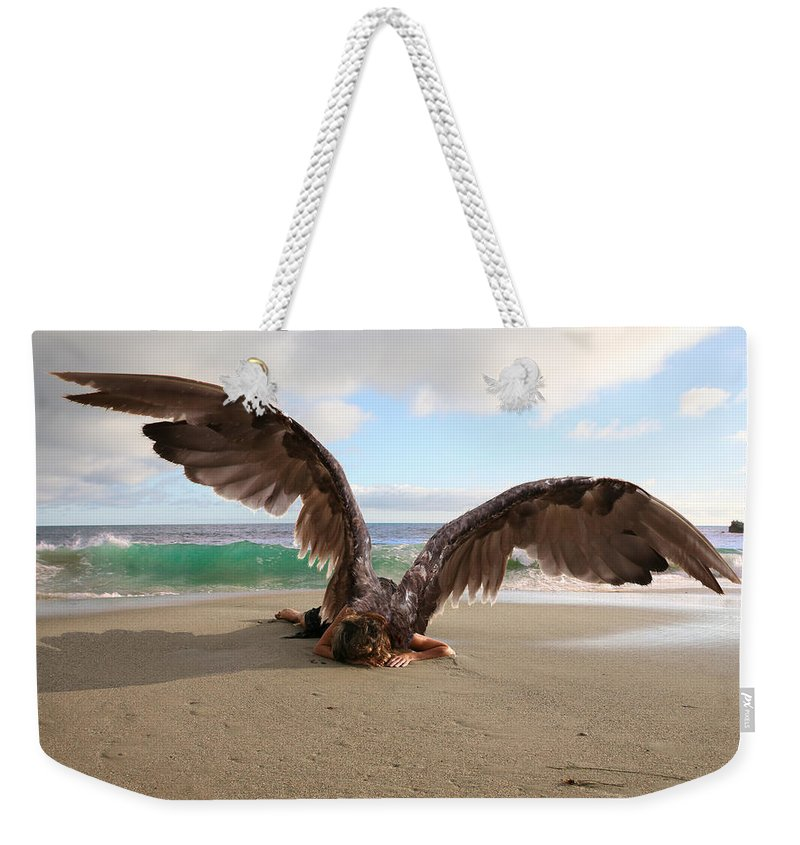 Alex-acropolis-calderon Weekender Tote Bag featuring the photograph Angels- We Shall Not All Sleep by Acropolis De Versailles