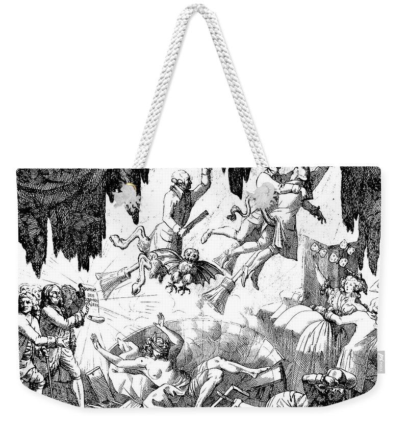 1784 Weekender Tote Bag featuring the photograph Animal Magnetism, 1784-5 by Granger