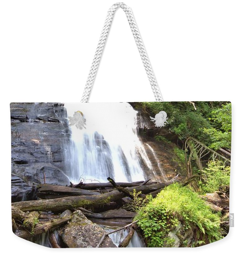 8815 Weekender Tote Bag featuring the photograph Anna Ruby Falls - Georgia - 4 by Gordon Elwell