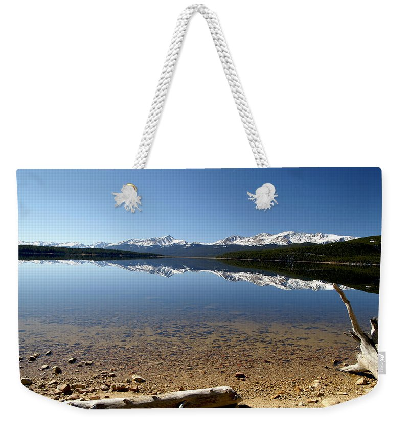 Reflection Weekender Tote Bag featuring the photograph Another Perfect Day by Jeremy Rhoades