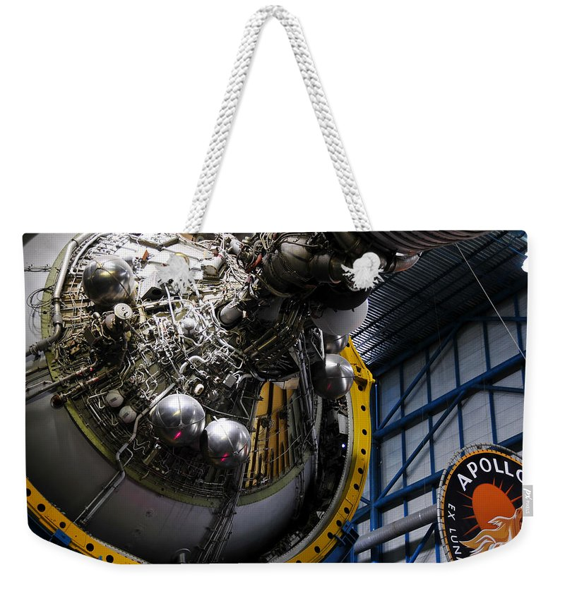 Apollo Mission Weekender Tote Bag featuring the photograph Apollo Mission Space Craft by David Lee Thompson