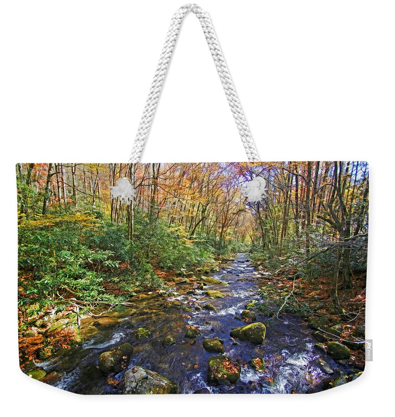 Great Smoky Mountains Weekender Tote Bag featuring the photograph Appalachian Highlands by HH Photography of Florida