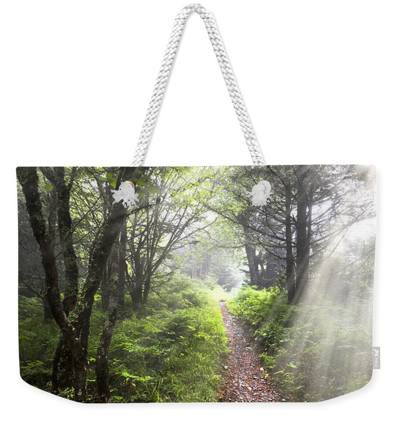 American Weekender Tote Bag featuring the photograph Appalachian Trail by Debra and Dave Vanderlaan