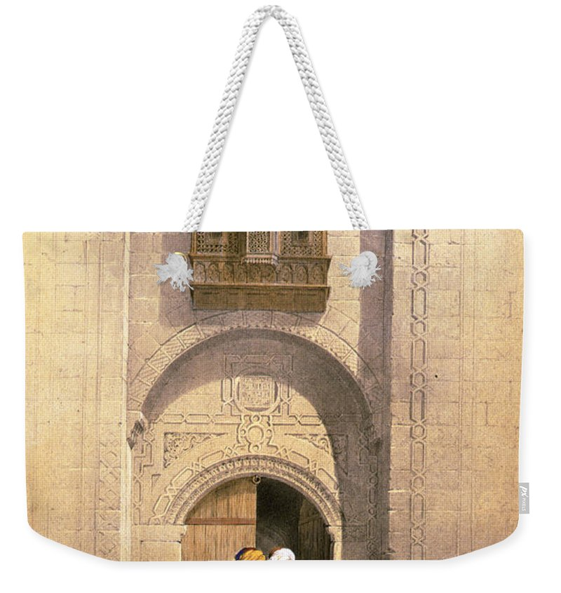 Cairo Weekender Tote Bag featuring the photograph Arabesque Cairo by Munir Alawi