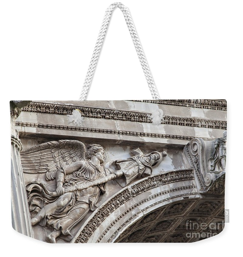 Arch Weekender Tote Bag featuring the photograph Arc Of Septimus by Sophie McAulay