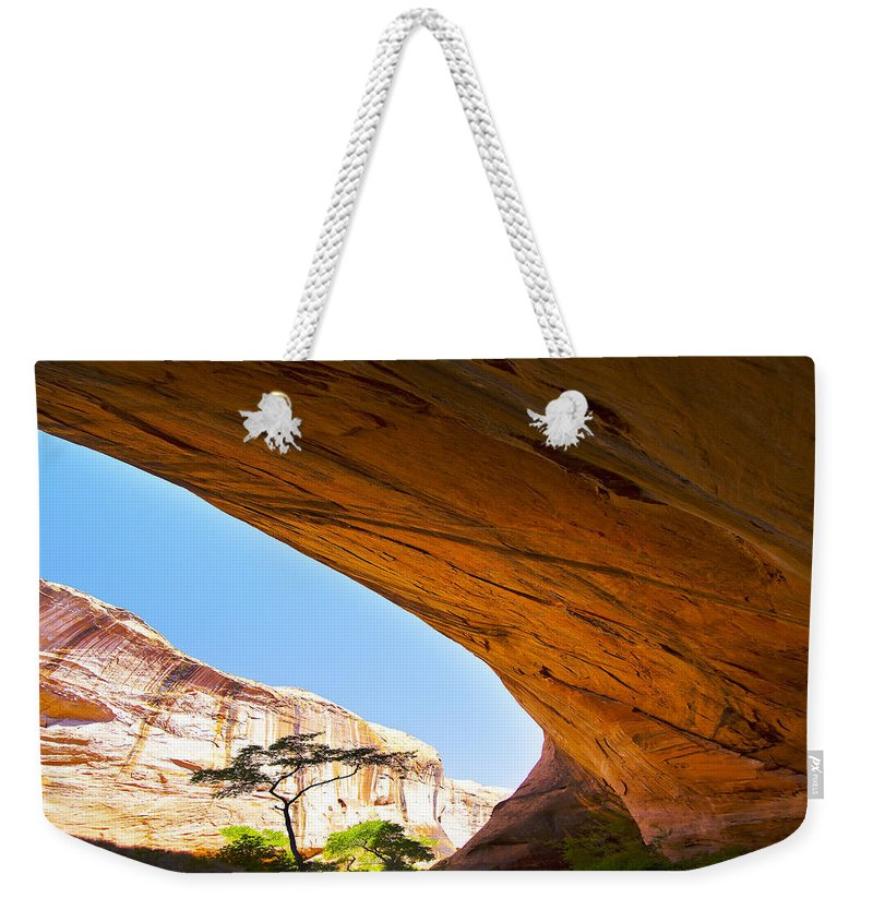 Arid Climate Weekender Tote Bag featuring the photograph Arch 42 by Ingrid Smith-Johnsen