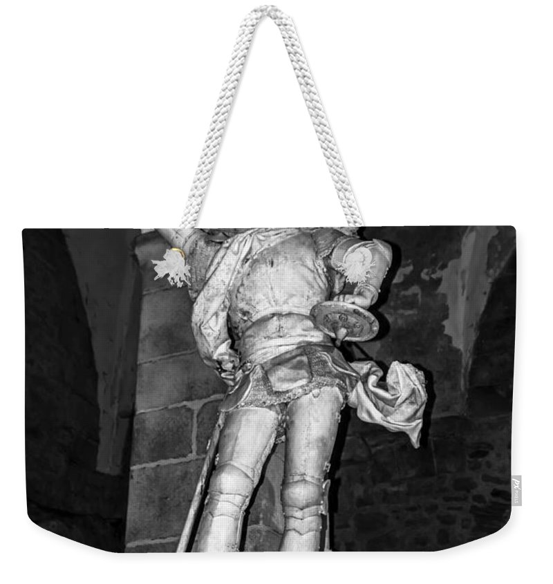 Travel Weekender Tote Bag featuring the photograph Archangel Michael by Elvis Vaughn