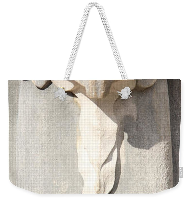 Architecture Weekender Tote Bag featuring the photograph Architectural Detail by Adrienne Franklin