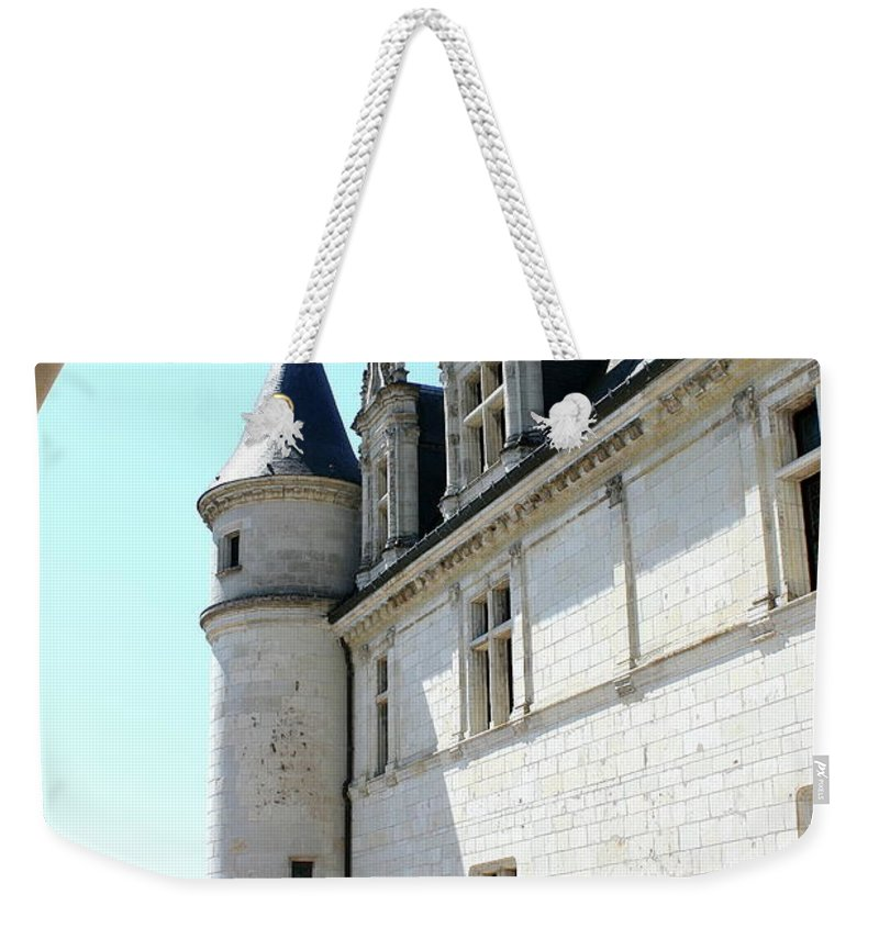 Castle Weekender Tote Bag featuring the photograph Archway View Chateau Amboise by Christiane Schulze Art And Photography