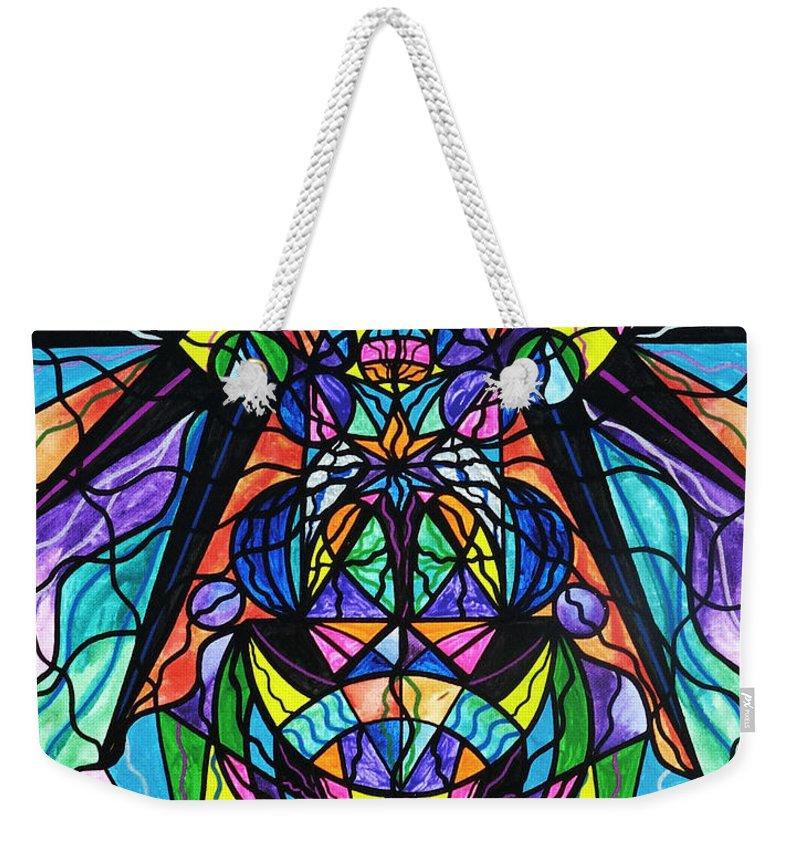 Awakening Paintings Weekender Tote Bags
