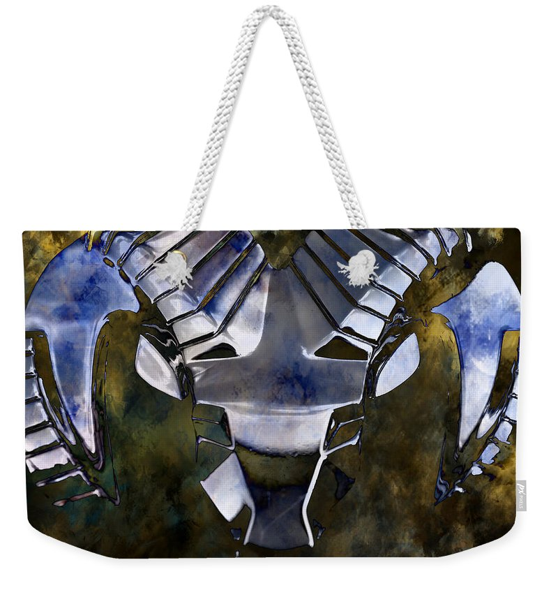 Ram Weekender Tote Bag featuring the photograph Aries The Ram by Deena Stoddard