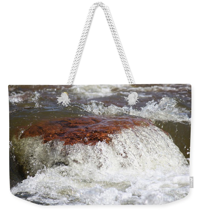 Weekender Tote Bag featuring the photograph Arizona Water by Debbie Hart
