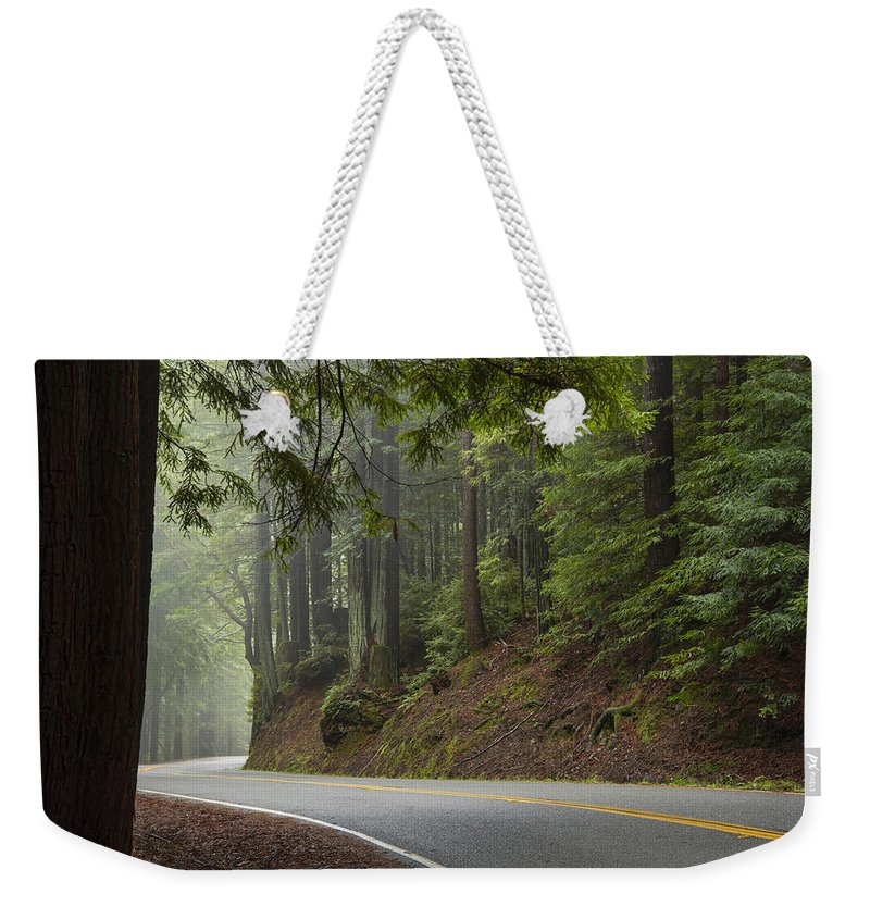 California Weekender Tote Bag featuring the photograph Around The Bend by Dustin LeFevre