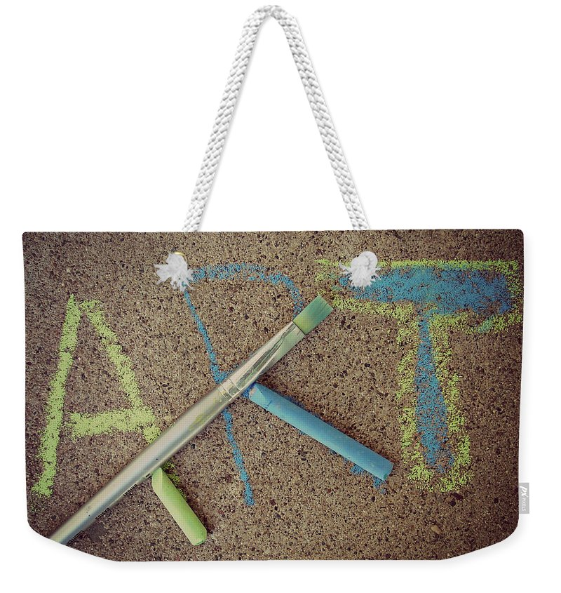 Art Weekender Tote Bag featuring the photograph ART by Cassie Peters