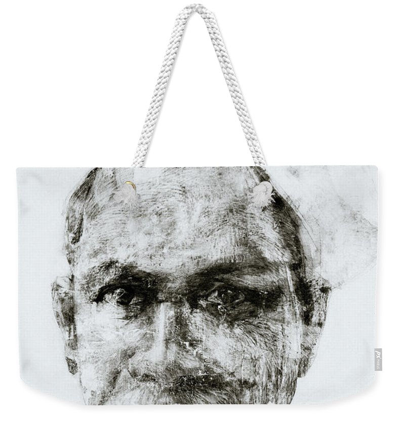 Graffiti Weekender Tote Bag featuring the photograph Urban Art Of Kerala by Shaun Higson
