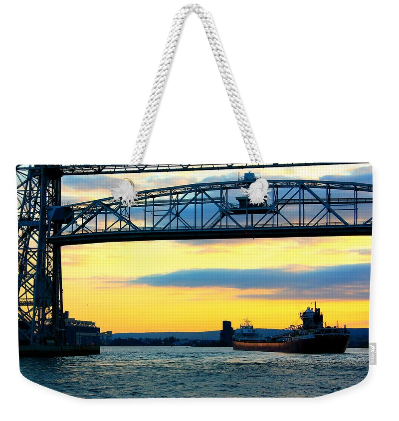 Arthur Anderson Weekender Tote Bag featuring the photograph Arthur M Anderson by Amanda Stadther