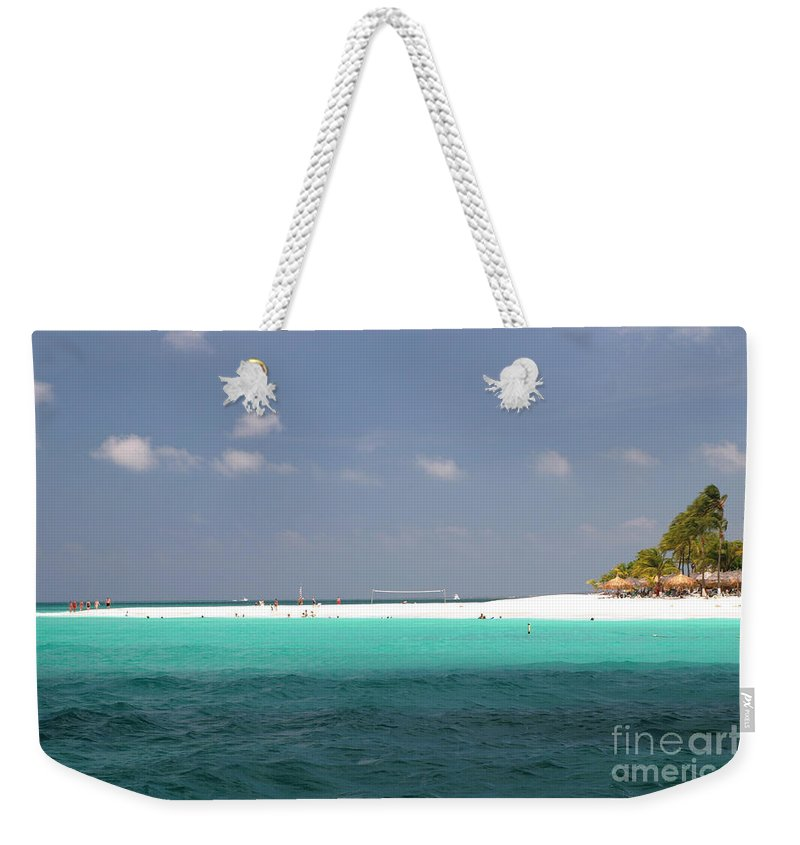 Aruba Weekender Tote Bag featuring the photograph Aruba by Living Color Photography Lorraine Lynch