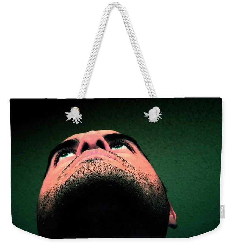 Dream Weekender Tote Bag featuring the photograph Jupiter And Saturn Calling by M Pace