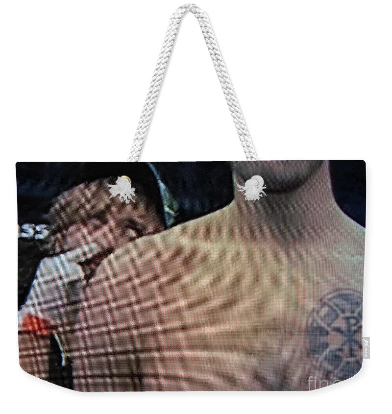 Ufc Weekender Tote Bag featuring the photograph Ass Seen On Tv by John King