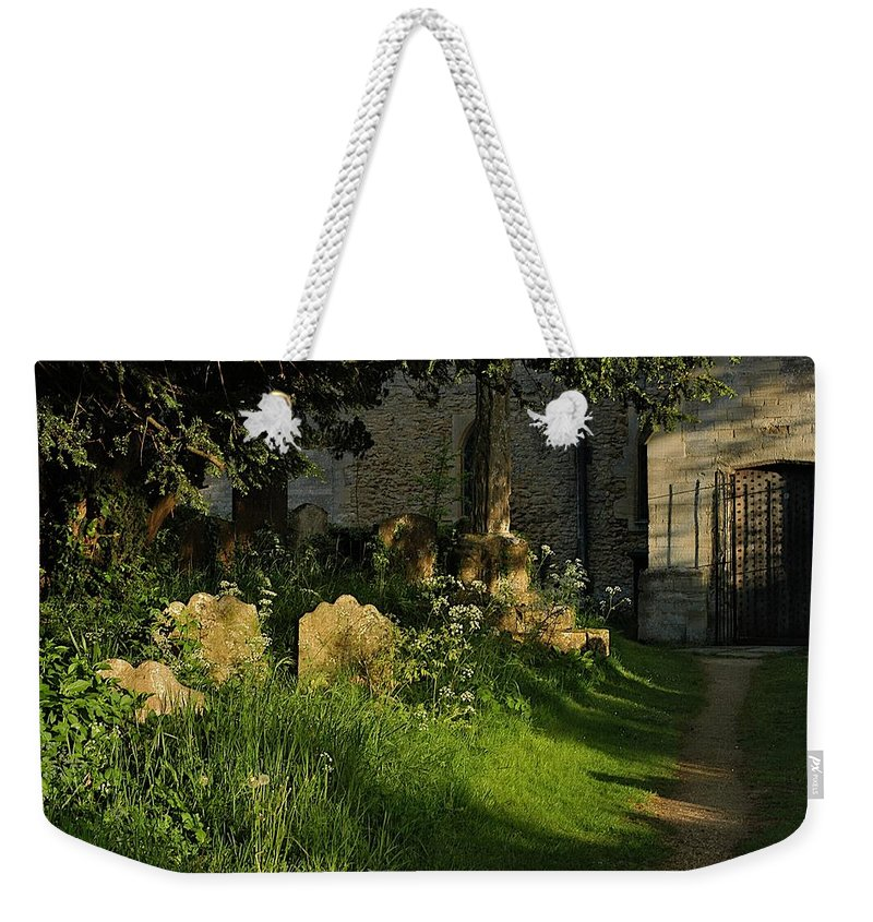 Church Weekender Tote Bag featuring the photograph At Peace by Joseph Yarbrough
