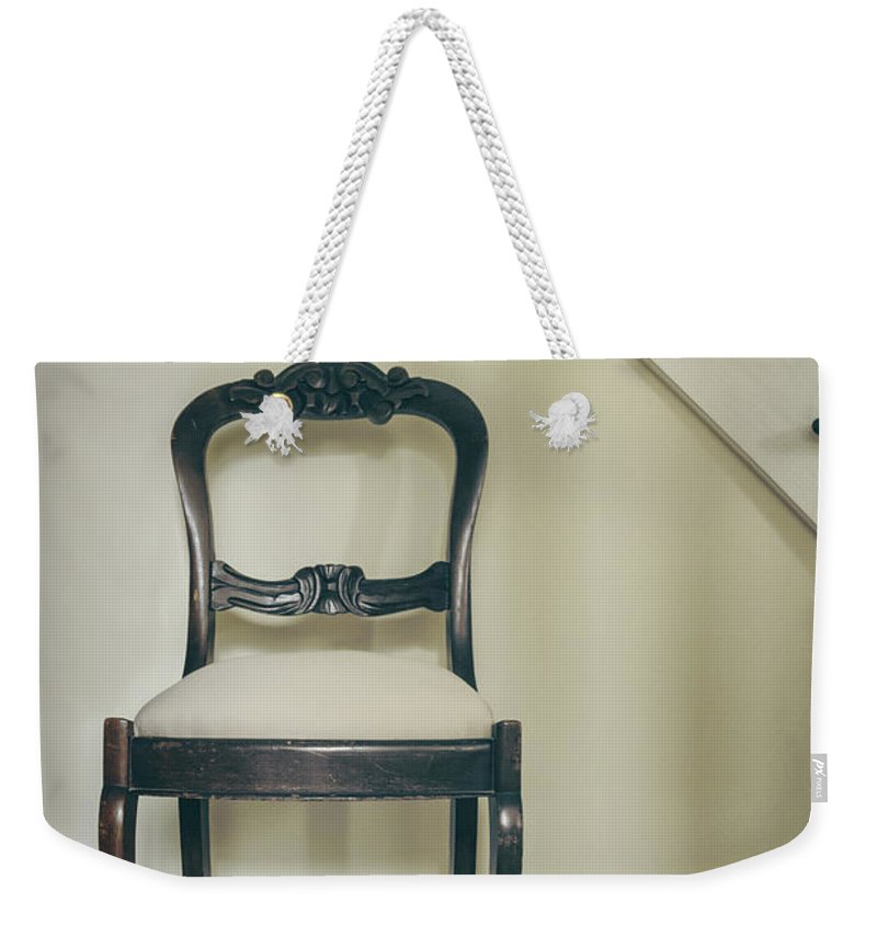 Vintage Weekender Tote Bag featuring the photograph At Rest by Margie Hurwich