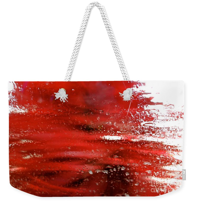 Car Wash Weekender Tote Bag featuring the photograph At The Car Wash 10 by Jacqueline Athmann