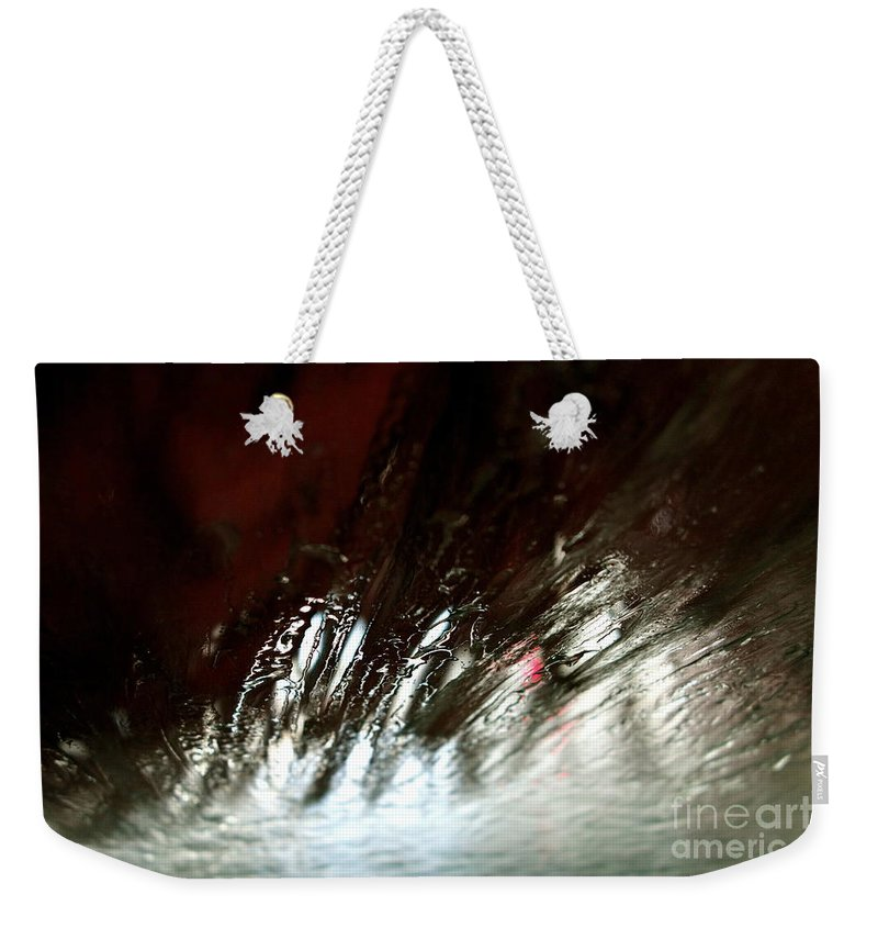 Car Wash Weekender Tote Bag featuring the photograph At The Car Wash 13 by Jacqueline Athmann